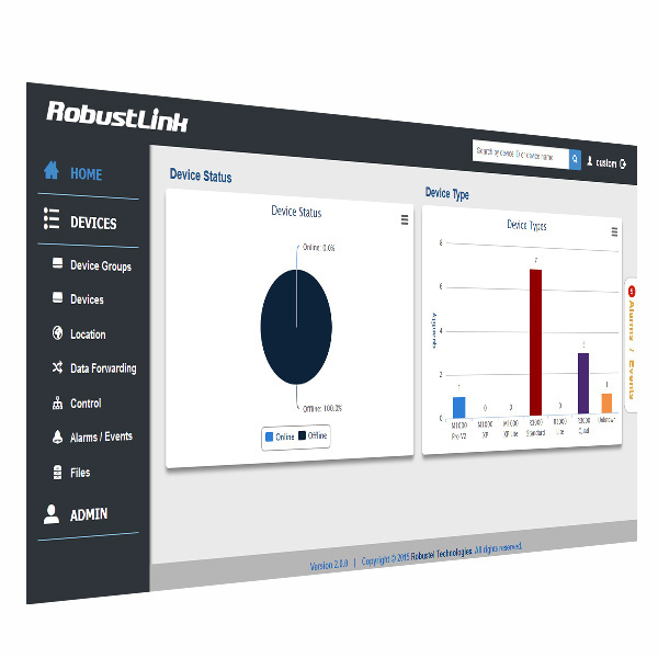 Robustel Cloud Management System