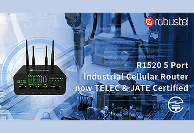 R1520 5 Port Industrial Cellular Router